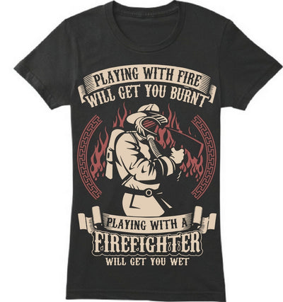 Playing With Firefighter