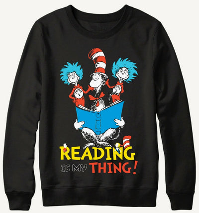 Reading thing Sweater