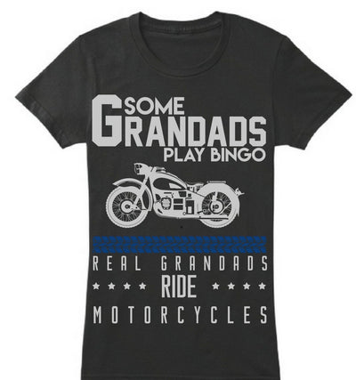 Real Grandads ride Motorcycle