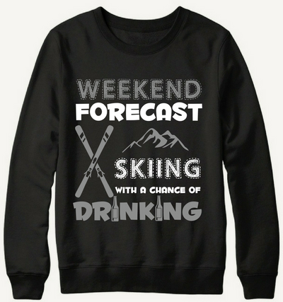 Skiing With A Chance Of Drinking