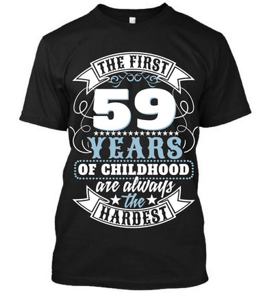 The First 59 Years