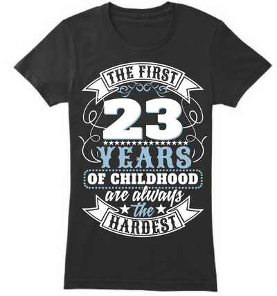 The First 23 Years