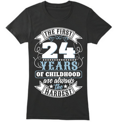 The First 24 Years