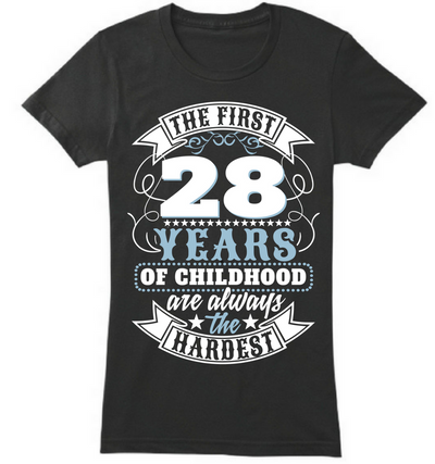 The First 28 Years