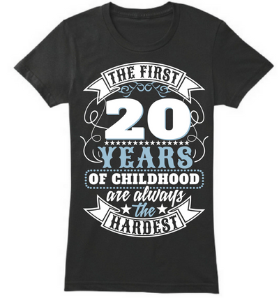 The First 20 Years