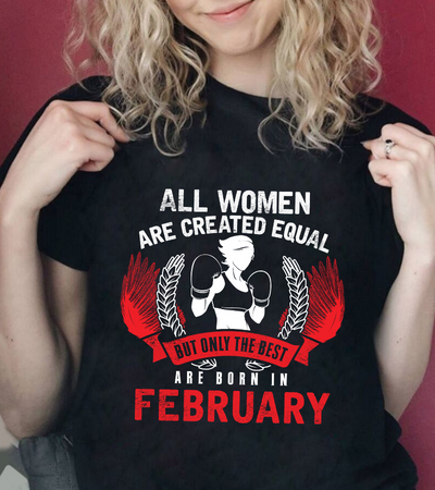 The Best Women are Born in February- Red