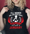 The Best Women are Born in January- Red