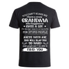 Crazy Grandma- Backprint