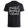 Grateful thankful blessed- Backprint