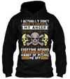 I Don't Need To Control My Anger Hoodie