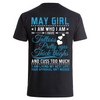 May Girl- Backprint