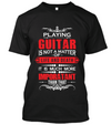 Playing guitar is much more- red