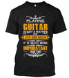 Playing guitar is much more- yellow