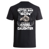 I Asked God T-shirt Back - Father