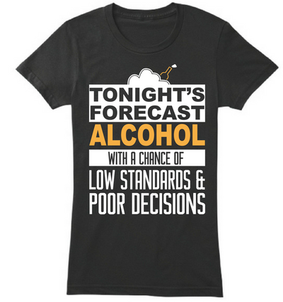 The Alcohol Forecast