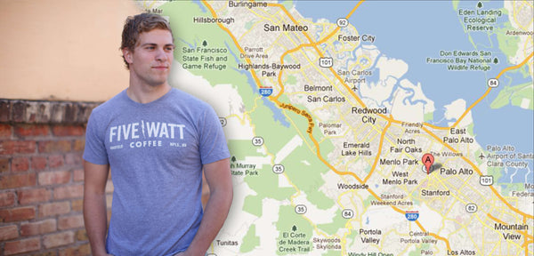 Custom T-Shirts for Palo Alto- FREE SHIPPING!
