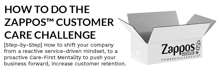 How to do the Zappos Customer Care Challenge [Step By Step]