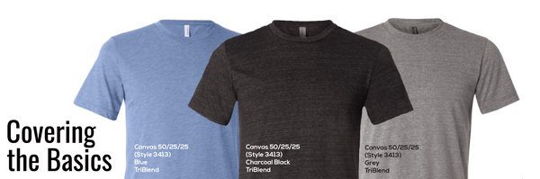 Top Custom T-Shirt Colors for 2018