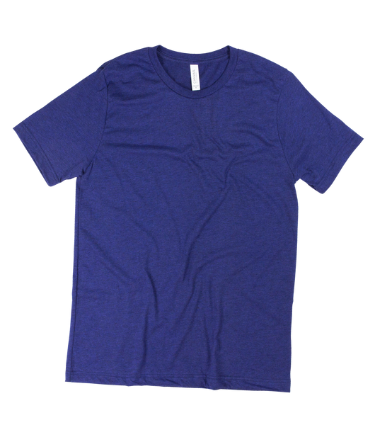 Order custom printed next level cvc 60 40 t shirts with for Custom t shirt next day delivery