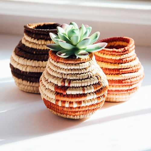 Mini Woven Baskets