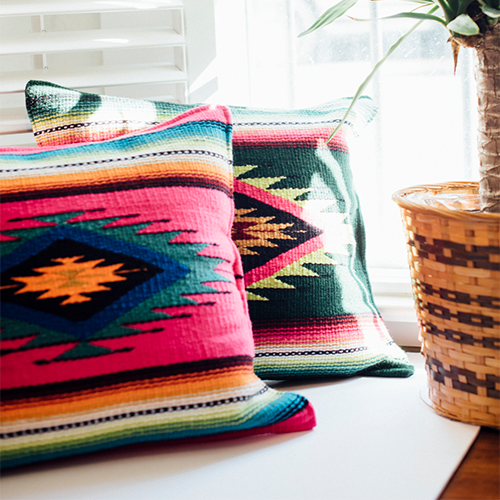 Mexi Print Pillows