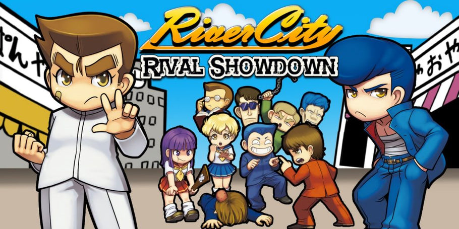River City: Rival Showdown Riki's Keychain Edition Wins Amazon's Choice on 3DS
