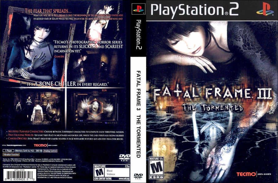 Fatal Frame III, Gallop Racer, and More Rare Playstation 2 Games