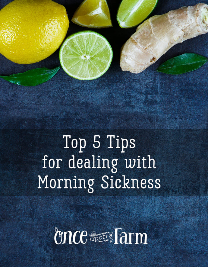Morning Sickness: Top 5 Natural Tips