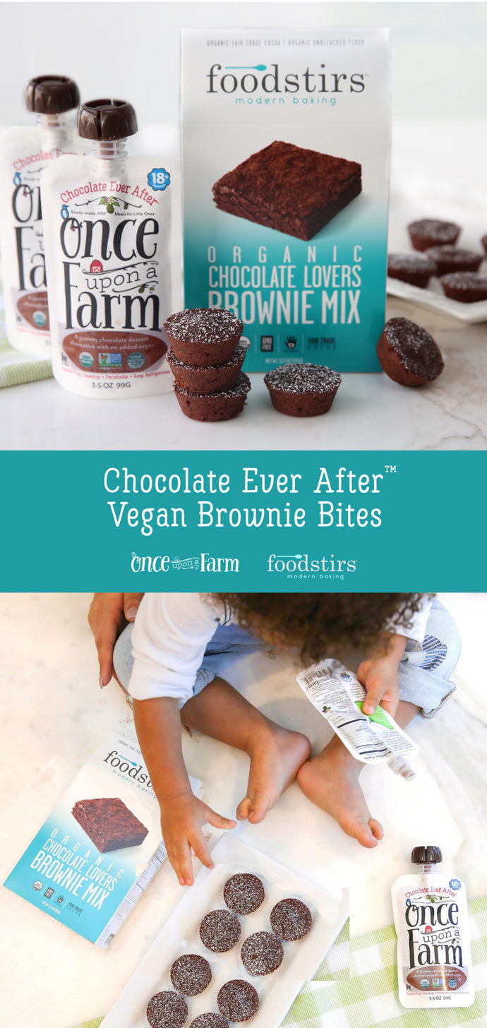 Chocolate Ever After Vegan Brownie Bites