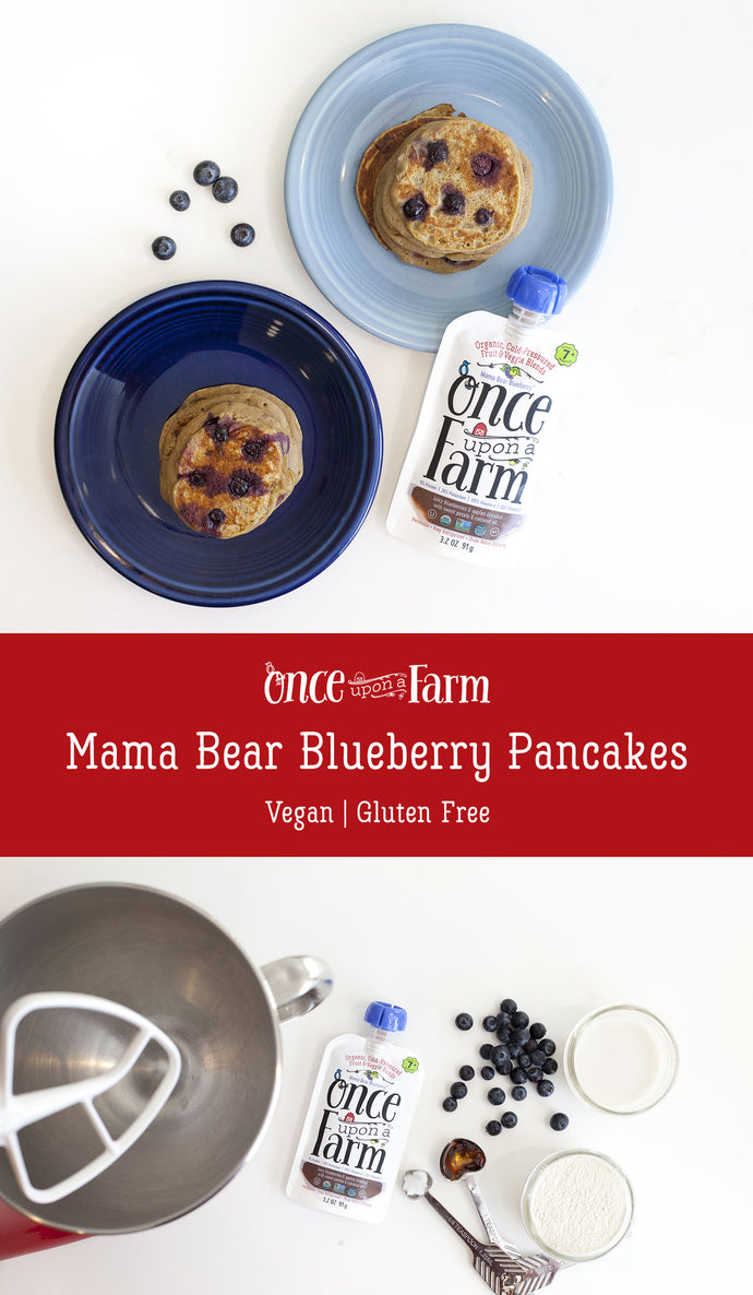 Mama Bear Blueberry Pancakes