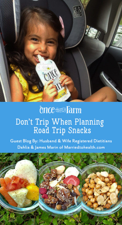 Don't Trip When Planning Road Trip Snacks!!