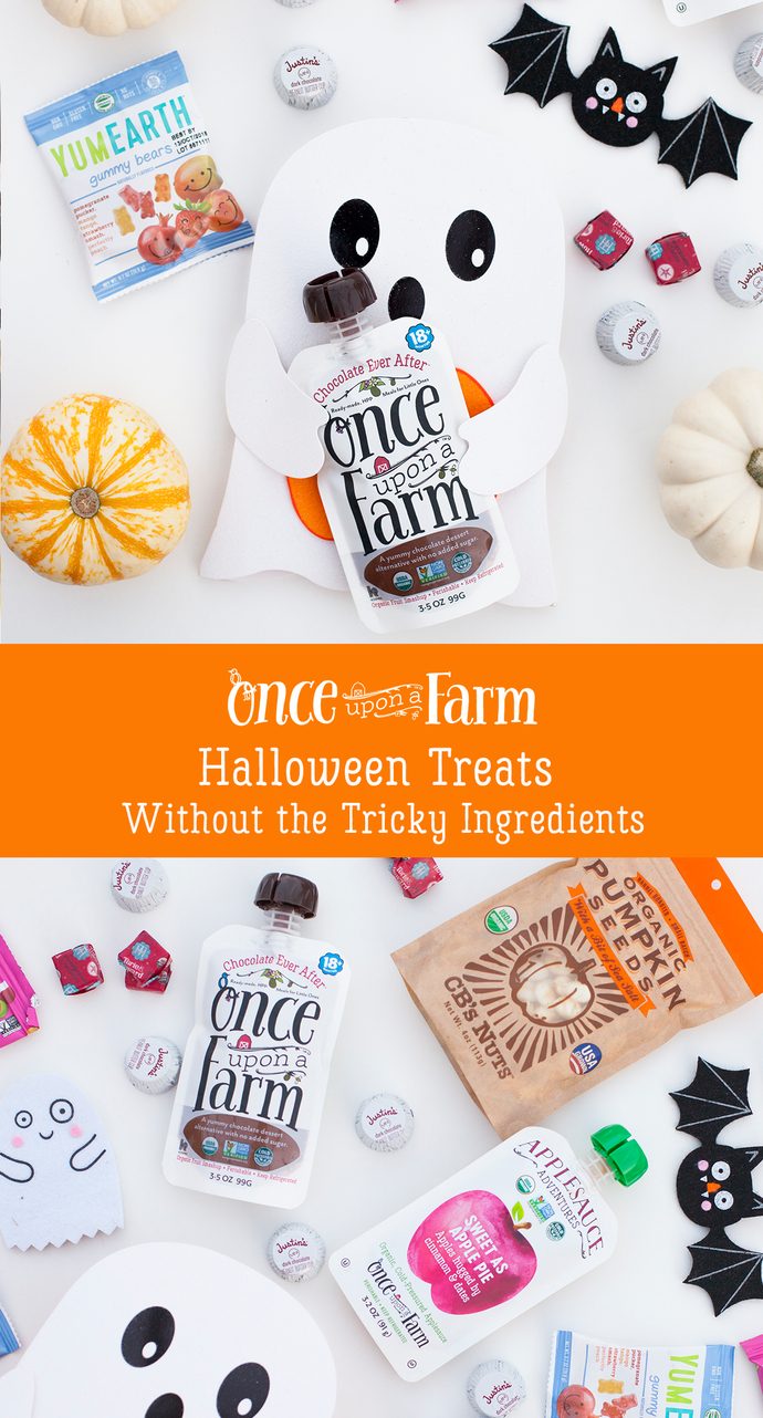 Happy Healthy Halloween Treats without Tricky Ingredients