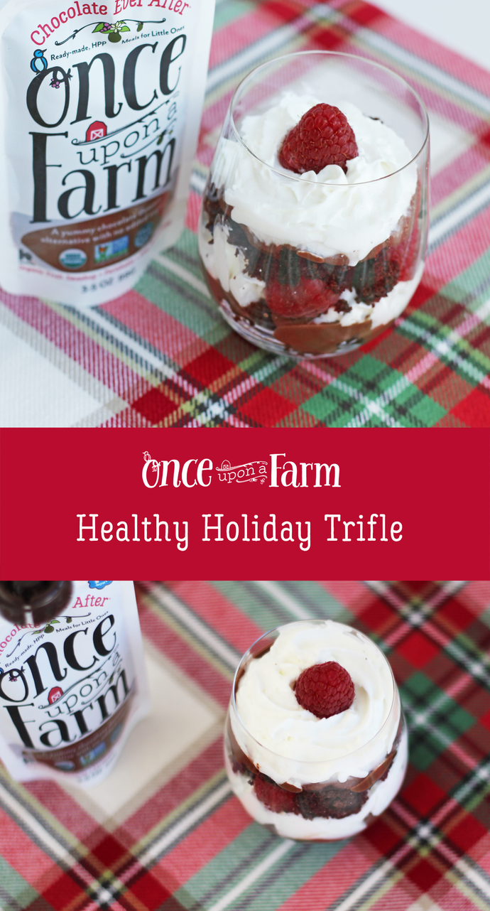 Healthy Holiday Trifle
