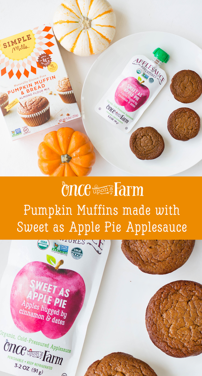 Pumpkin Muffins with Applesauce