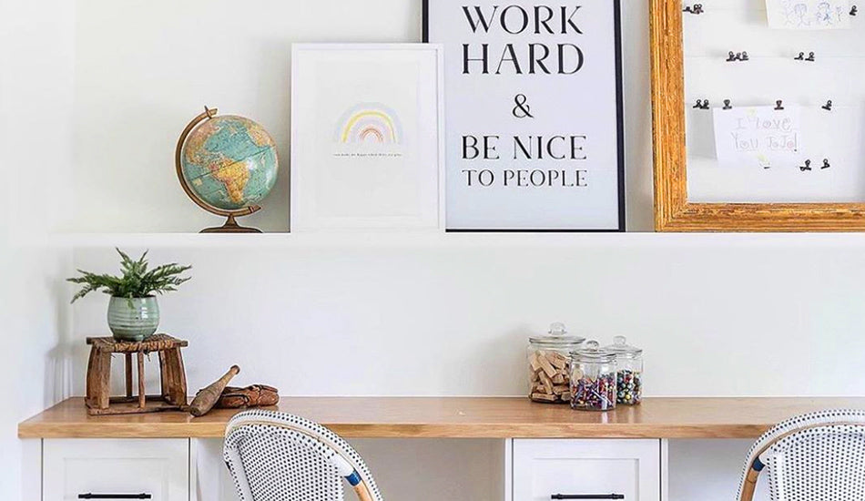 How To Create an Organized Learning Space at Home