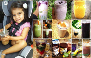smoothies as a road trip snack