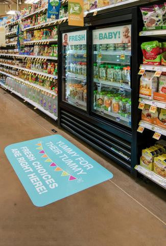 cold pressed baby food can be found in many grocery stores