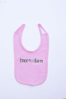 Pink Once Upon a Farm Bib
