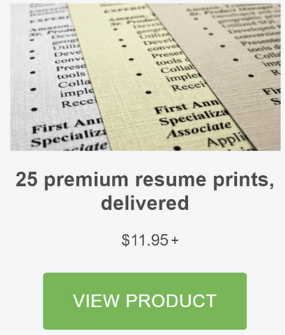 Resumates Is An Online Resume Printing Service. Give Us A Try! We Print  Your Resume Paper  Ivory Resume Paper
