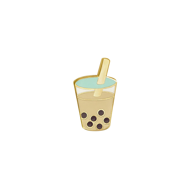 Bubble Tea (Boba) Pin