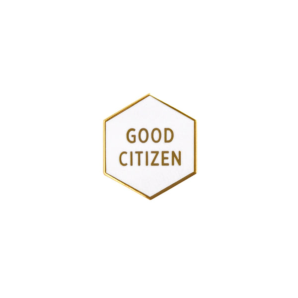 Good Citizen Pin