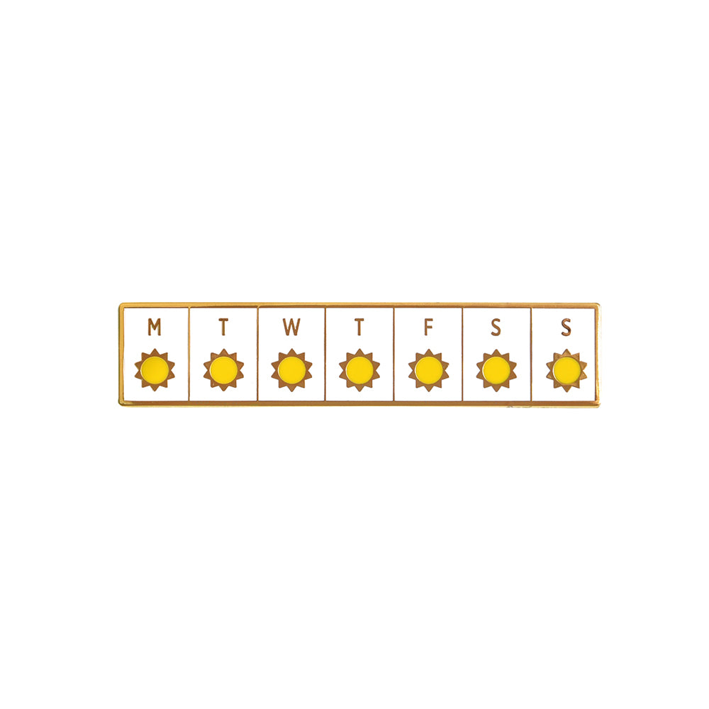 Here Comes The Sun Pin