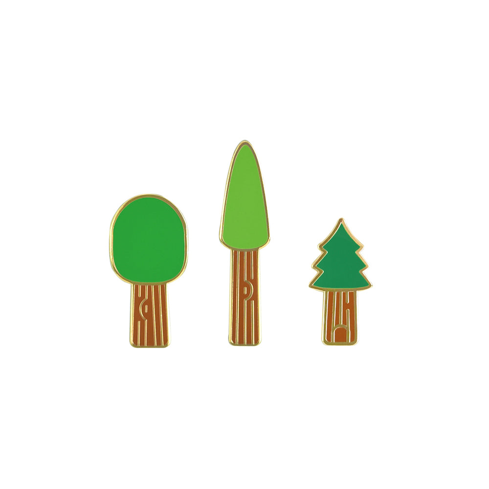 Famous Redwoods Pin Set