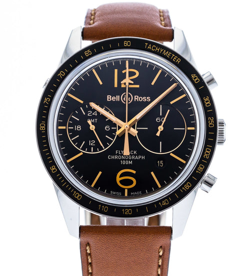 Bell & Ross BR126-55 Sport Heritage GMT Flyback