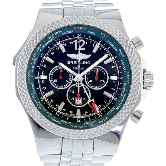 Breitling Bentley GMT British Racing Green Limited Edition A47362