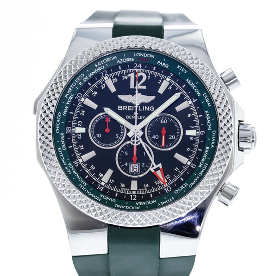 Breitling Bentley GMT British Racing Green Limited A47362 - Limited Edition