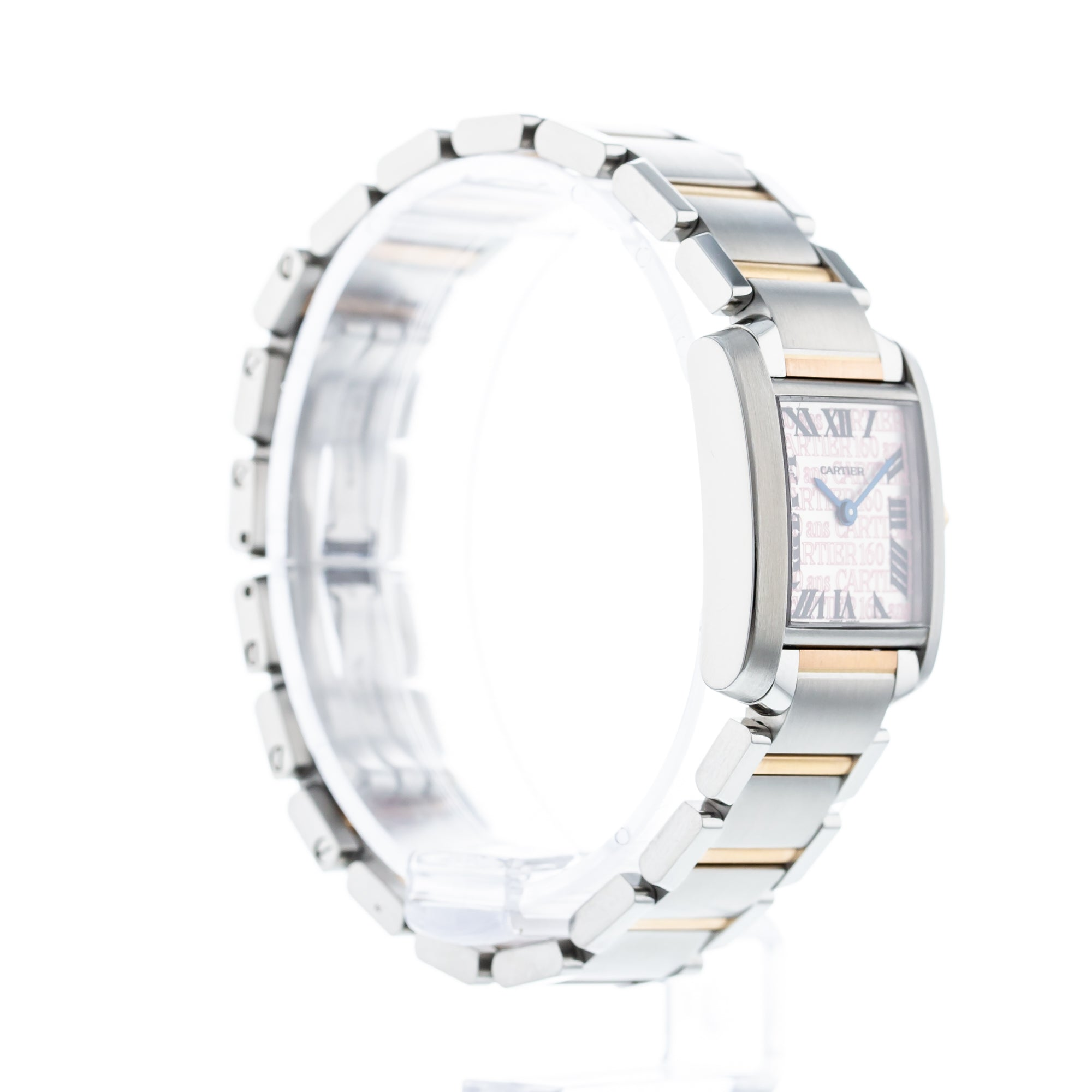 Cartier Tank Francaise 160th Anniversary Limited Edition W51036Q4