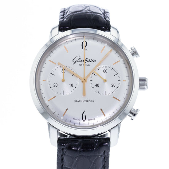 Glashutte Original Senator Sixties Chronograph 1-39-34-03-22-04