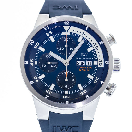 IWC Aquatimer Cousteau Divers Tribute to Calypso Limited Edition IW3782-01