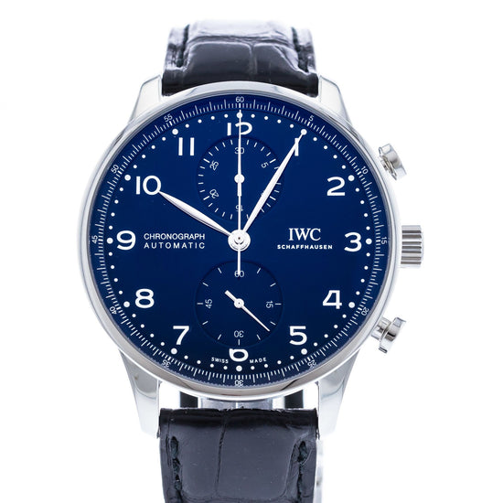 "IWC Portuguese Chronograph ""150 Years"" Limited Edition IW3716-01"
